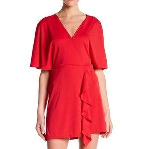 Free Press Ruffle Mini Dress